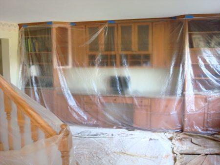 Interior Prep Work prior to painting